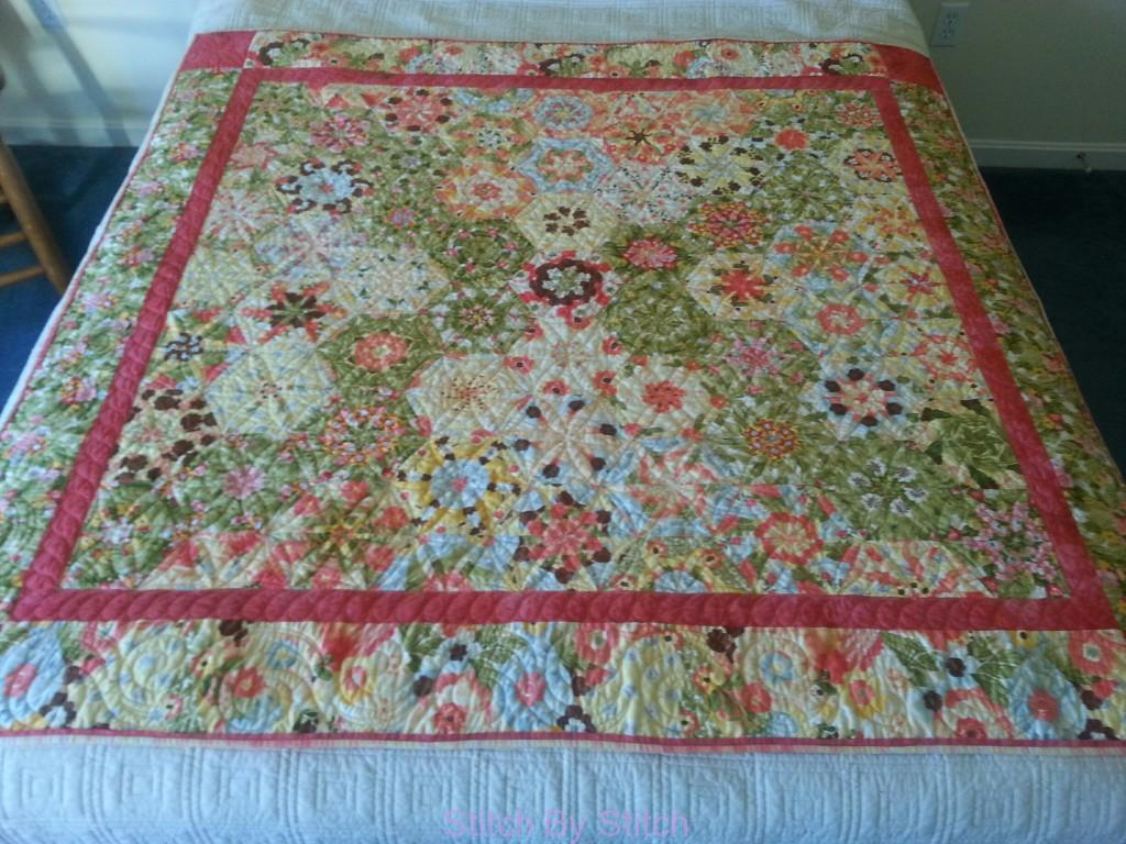 A Peachy One Block Wonder Quilt Stitch By Stitch Custom